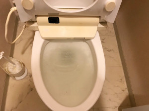 【広島市南区段原】トイレ詰まりローポンプ