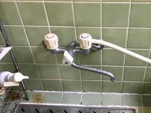 【広島市安佐南区相田】お風呂の蛇口が水漏れ