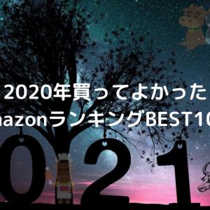 令和2年終わるよ~オレ的2020年買ってよかったAmazonランキングBEST10!