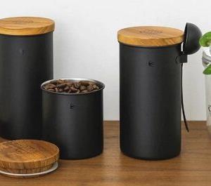 ツバメ「ステンレスコーヒーキャニスター」