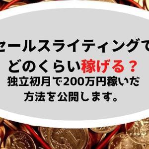 セールスライティングの収入は仕事内容次第?【独立初月で200万円稼いだ方法】