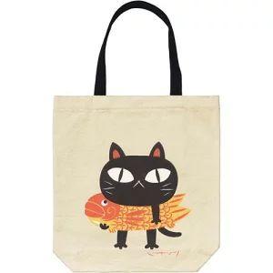 猫柄のトートバッグ (1600~1700円)