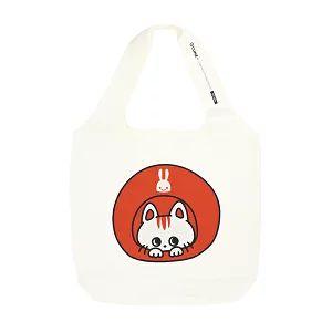 猫柄のトートバッグ (2600~2800円)
