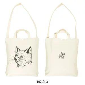 猫柄のトートバッグ (2600~2900円)