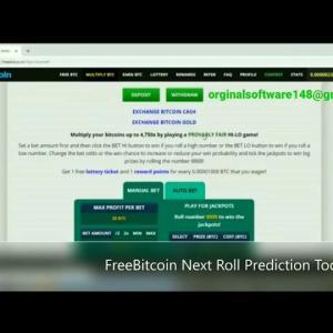 Freebitco.in next Roll Prediction Script Software  2021