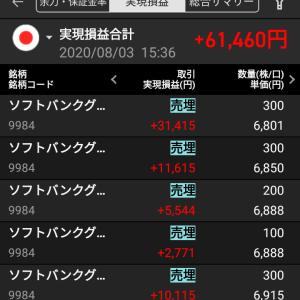 ソフトバンクGがくれた逃げ場(*^^*)