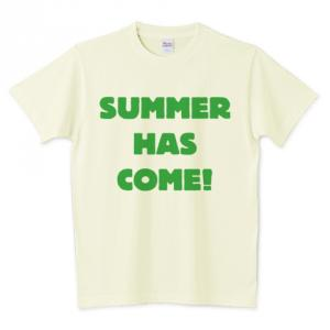 SUMMER HAS COME typeA Tシャツ
