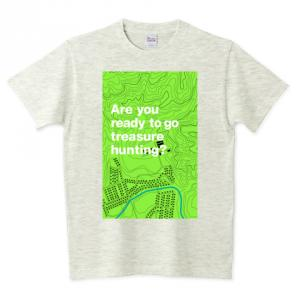 Are you ready to go terasure hunting? 半袖グラフィックTシャツ