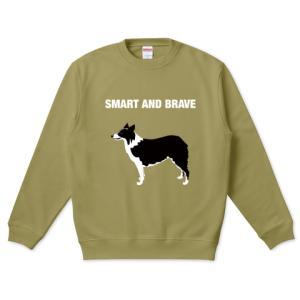 SMART AND BRAVE クルーネックスウェット