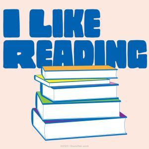 暇さえあれば図書館で読書する友だち