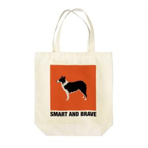 SMART AND BRAVE トートバッグ