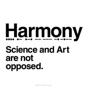 科学と芸術は敵対するものではない