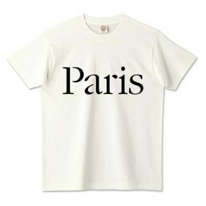 オーガニックコットンTシャツ (TRUSS) 「 Paris 」