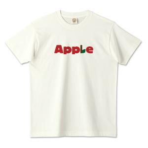 オーガニックコットンTシャツ (TRUSS) 「 Apple 」