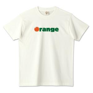 オーガニックコットンTシャツ (TRUSS) 「 Orange 」