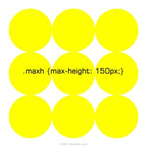 min-height、max-heightプロパティ