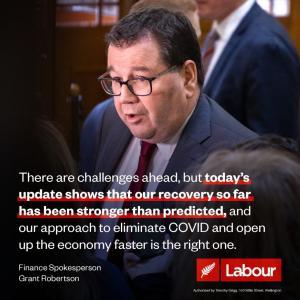 ニュージーランド財務省は、国境制限解除予測を2022年1月に