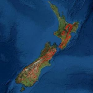 ニュージーランドでマグニチュード5.2の地震30分後日本でも