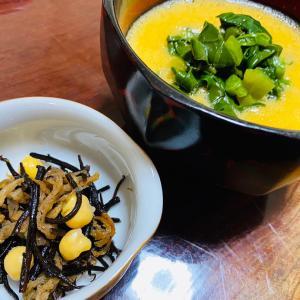 万能野菜ツルムラサキはこの食べ方が好き♡〜長期実験‼︎食記録2020.9.21昼食