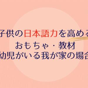 海外赴任先でも!子供の日本語力を高めるおもちゃたち【幼児がいる我が家の場合】