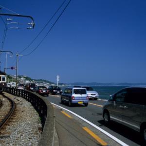 20210306 江ノ電 海岸が見えてきた & ホワイトデーが近い!