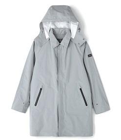 エーグル「透湿防水 2in1 ステンカラーコート」