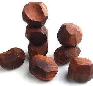 ライフ「おとなもムキになる積み木(5個)」