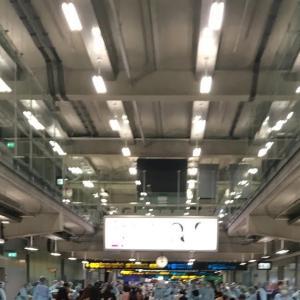 [渡航] タイ 特別便(7/31) 到着~入国 手順詳細