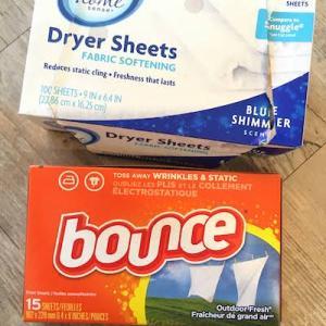 アメリカの洗濯機と乾燥機【Dryer sheets ドライヤーシートと化学薬品について】