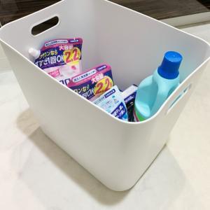四角いはは使いやすい♪ 洗面所で大活躍の無印の◯◯