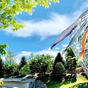 水遊びができるアスレチックが最高!山梨県「笛吹川フルーツ公園」はファミリーにおすすめ!