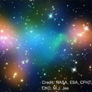 ダークマター研究の歴史2(弾丸銀河団に潜むダークマターの証拠)