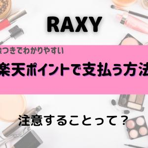 RAXYを楽天ポイントで支払う設定方法を画像つきで解説