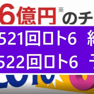 第1521回ロト6結果第1522回ロト6予想    当選実績掲載