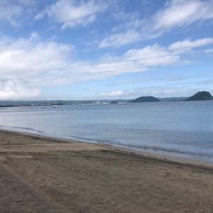 姉子の鳴き砂-夫婦岩-博多ラーメン 3日目-№2