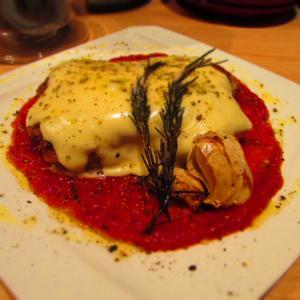 鶏モモ肉のロースト ステッペンチーズ