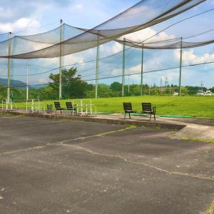 三重県 名阪ロイヤルゴルフクラブの練習場を紹介してます