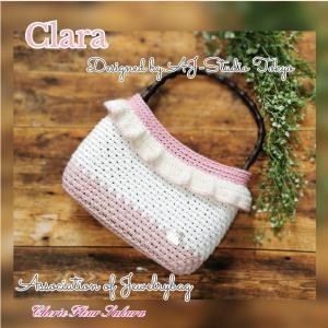 《NEW》クララ『Clara』フリルの可愛いbagを習いました~♡