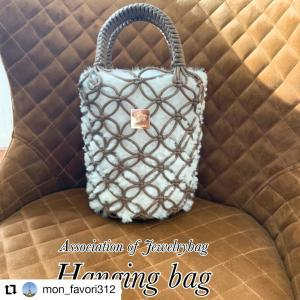 『Hangingbag』大人気です~生徒様のハンギングバッグ♡