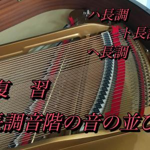 復習・長調の音階の音の並び方 〜 復習しながら進む基礎の楽典 ・  50代初心者で独学したいあなたへ 〜【 Level 3 第 21 回 】
