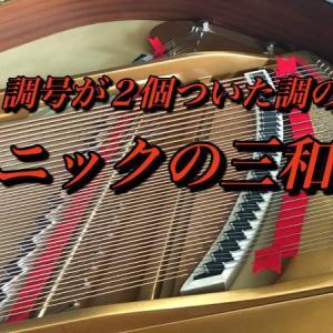 【主要三和音・調号の♯2個と♭2個のトニックの三和音(コード)】楽典・ピアノ初心者が楽譜を読むための基礎知識<レベル3 第62回>