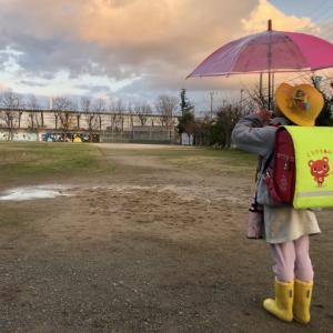 傘を差して歩けるようになったのはいつ??