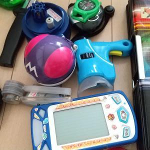 息子部屋の掃除