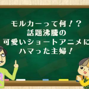 モルカーって何!?話題沸騰の可愛いショートアニメにハマった主婦!