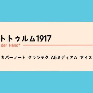 ロイヒトトゥルム1917 ハードカバーノート クラシック A5ミディアム アイスブルー