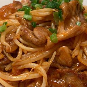 【酢豚風】豚肉ともやしの『甘酢炒め』のレシピ・作り方【#時短 #節約】