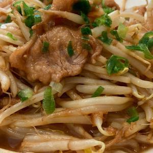 豚肉ともやしの『おかかバター醤油炒め』のレシピ・作り方【#ズボラ飯 #時短 #節約】