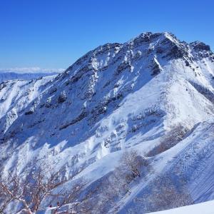 2020.3.15 阿弥陀岳中央稜
