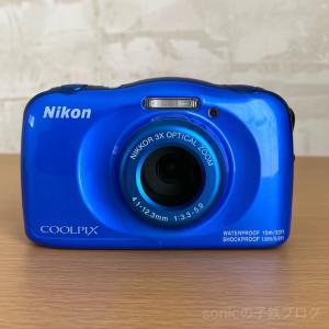 子鉄が撮り鉄デビュー!カメラはニコンのCOOLPIX W150に決めました