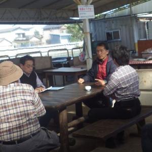 おじさん達の農法講習会